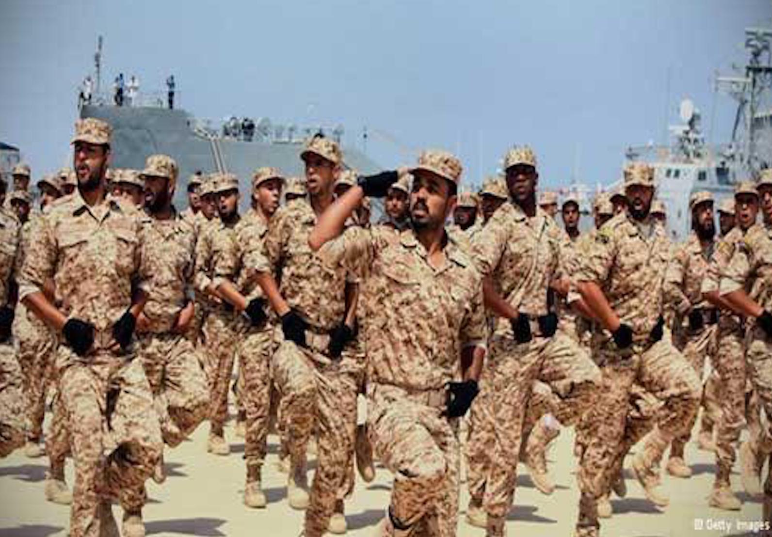 تشكيل عسكري تابع لرئاسي الوفاق