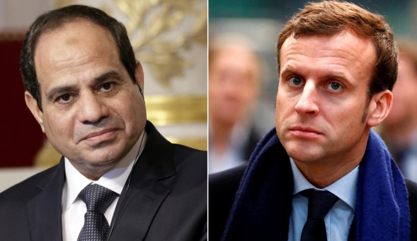 توافق مصري فرنسي