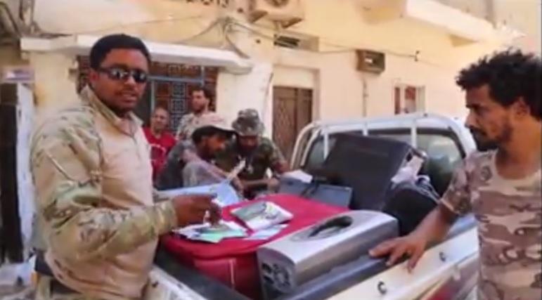 Photo of ضبط صواريخ حرارية ووثائق لإرهابيين في الصابري