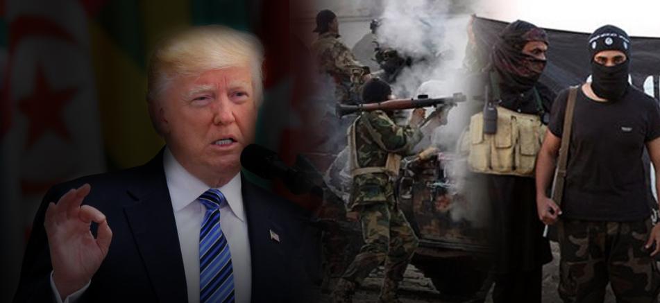 ترامب: لا دور في ليبيا إلا لدحر داعش