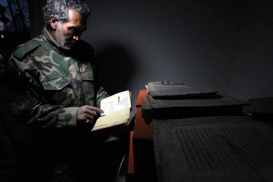 مخطوطات ليبية