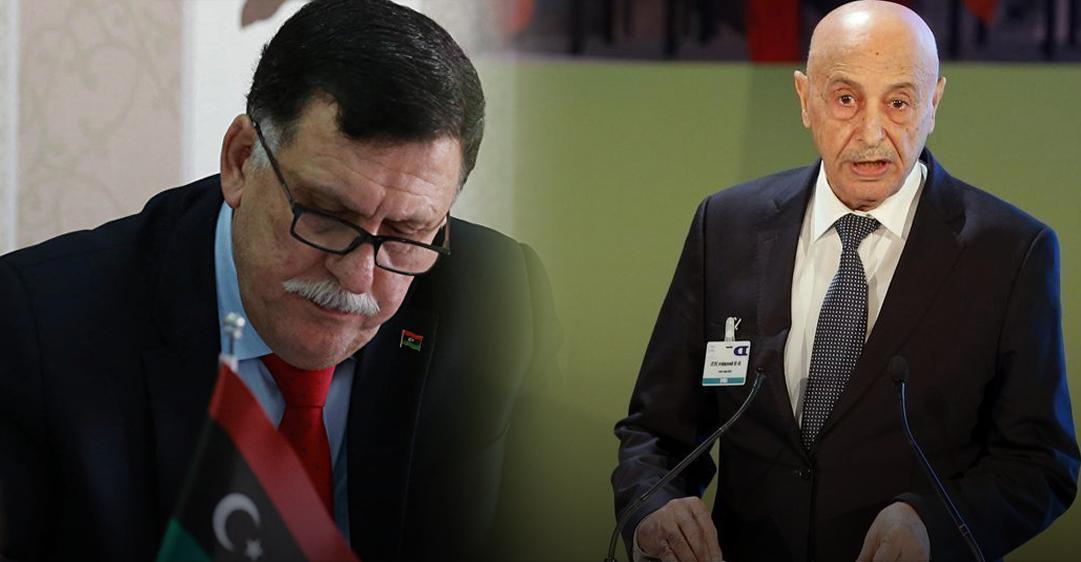"""Photo of السراج وعقيلة يرفضان """"عرضاً سياسياً"""" من الرئيس الفرنسي"""