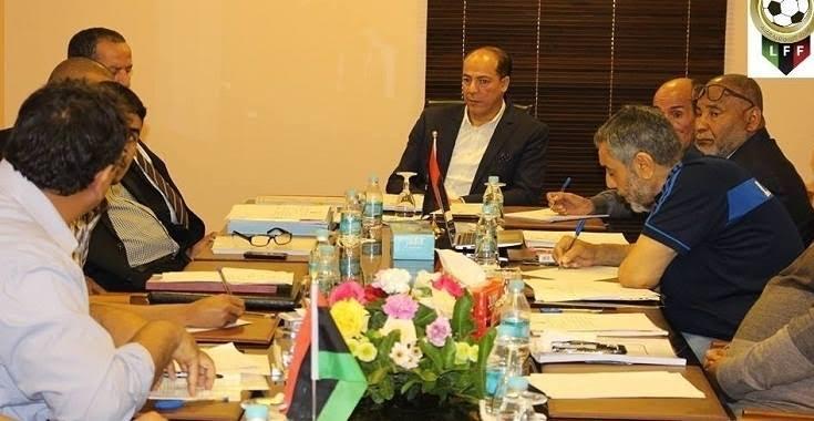 المكتب التنفيذي للاتحاد الليبي لكرة القدم