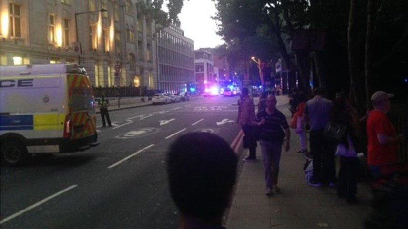 إخلاء محطة في لندن