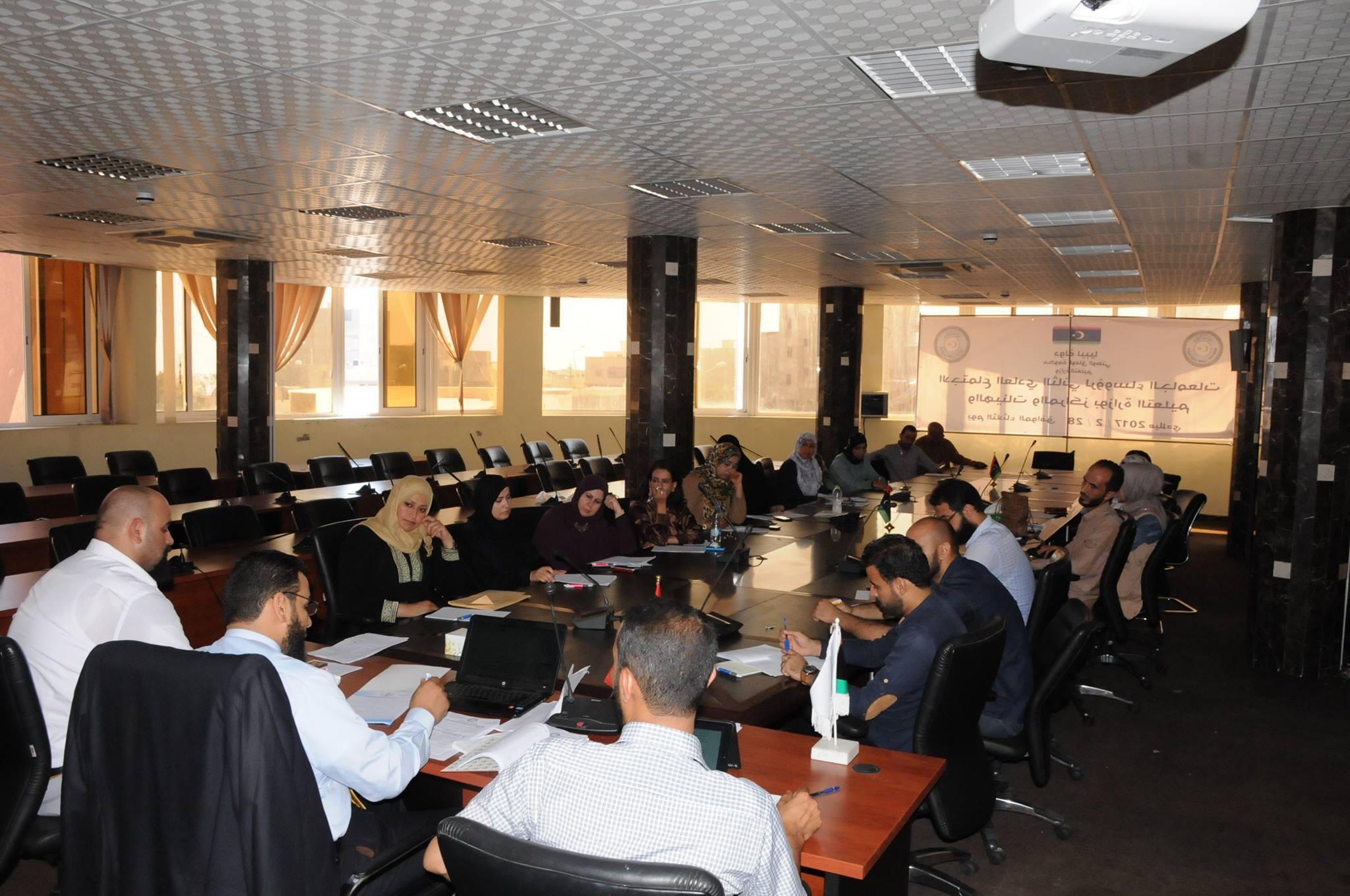 إدارة التدريب تنظم ورشة عمل حول هيئة التدريس
