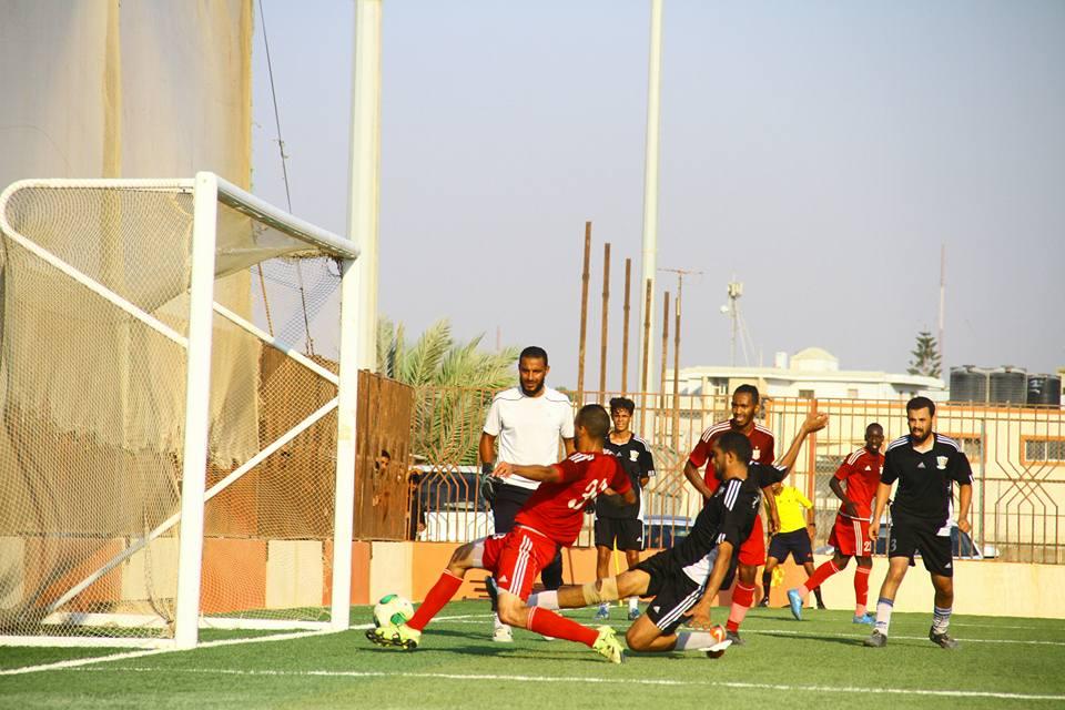 الأهلي بنغازي يفوز على قاريونس بالثمانية