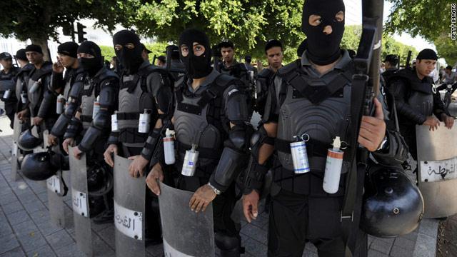قوات الامن التونسي