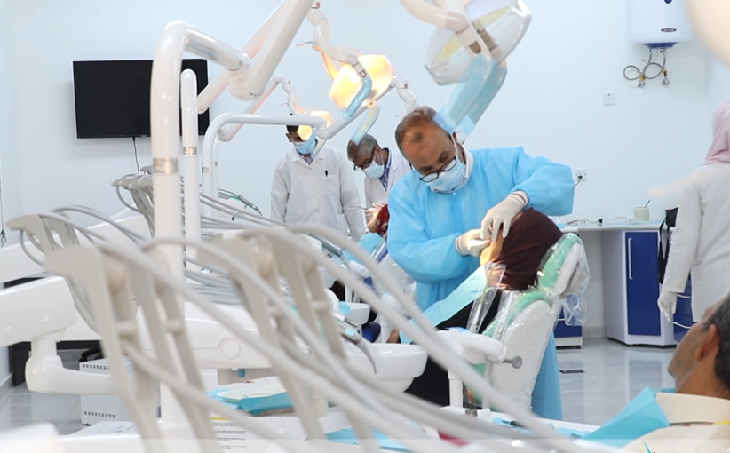 صورة الجامعة الدولية تفتح مركزا لطب وجراحة الفم والأسنان