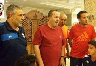 رئيس الاتحاد الليبي لكرة القدم السيد عبدالحكيم الشلماني