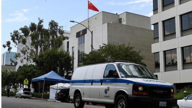 القنصلية الصينية في لوس أنجلوس