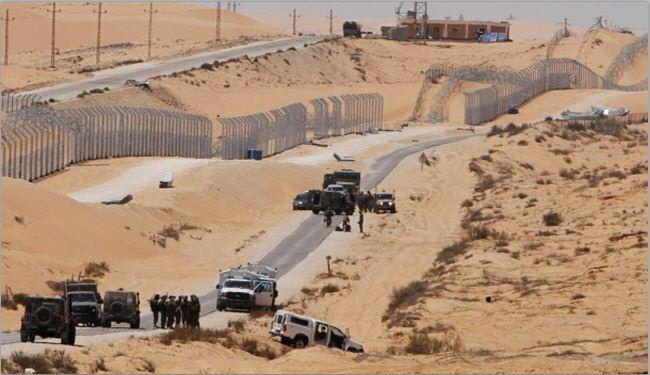 المنطقة العازلة غزة