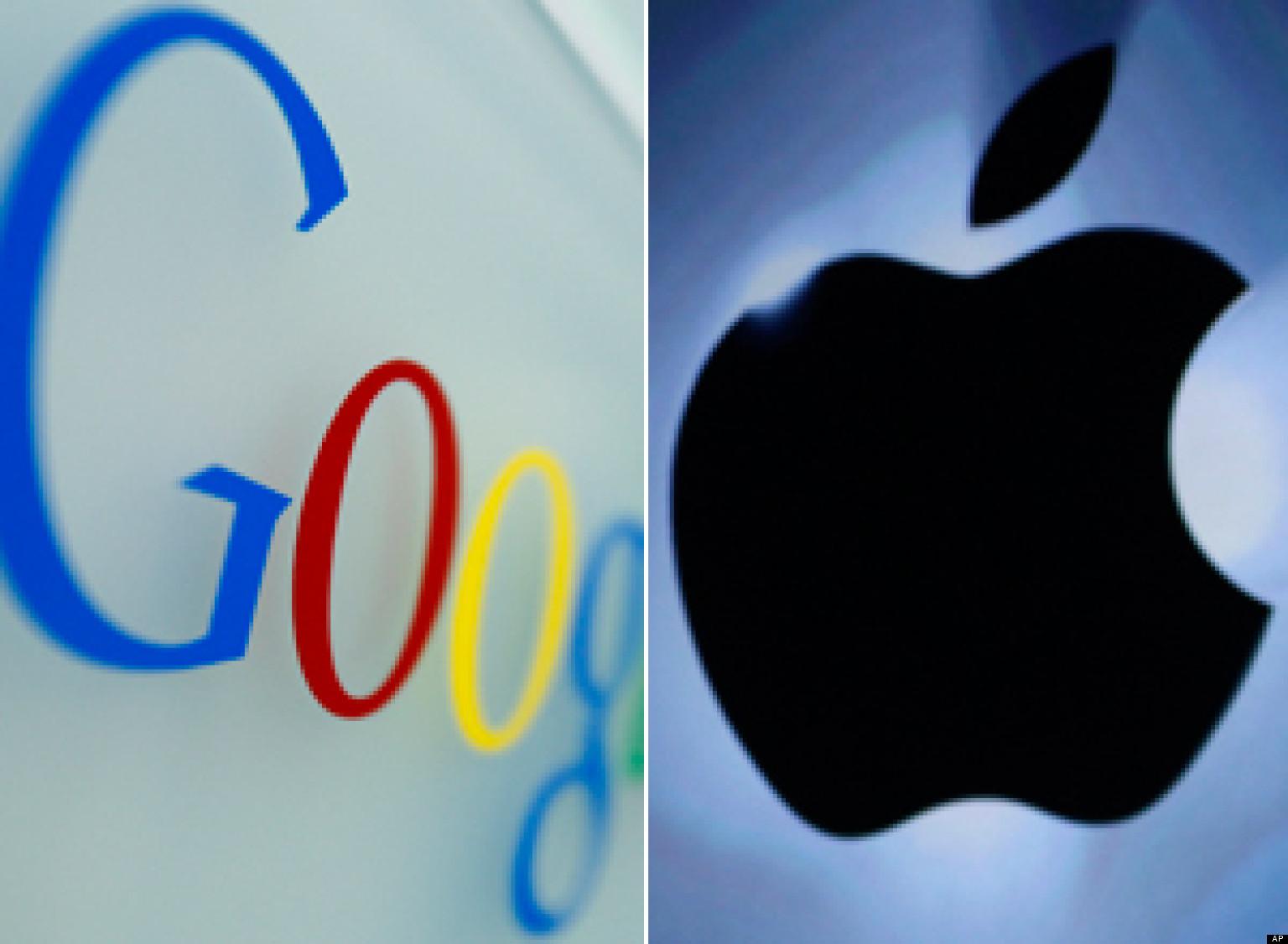 جوجل وأبل