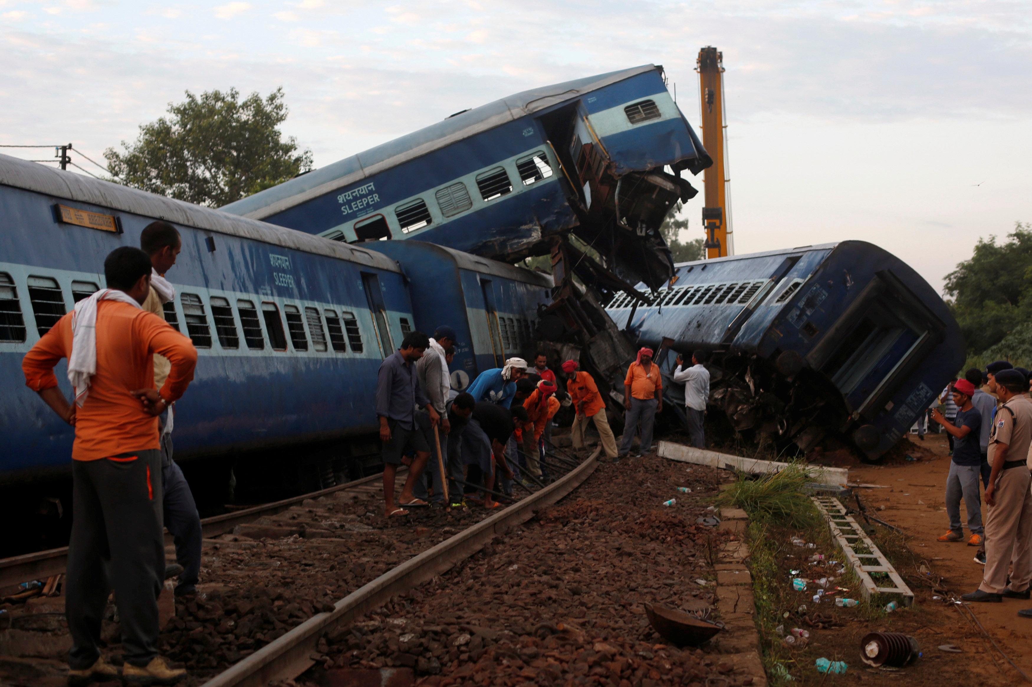 حادث قطار في الهند