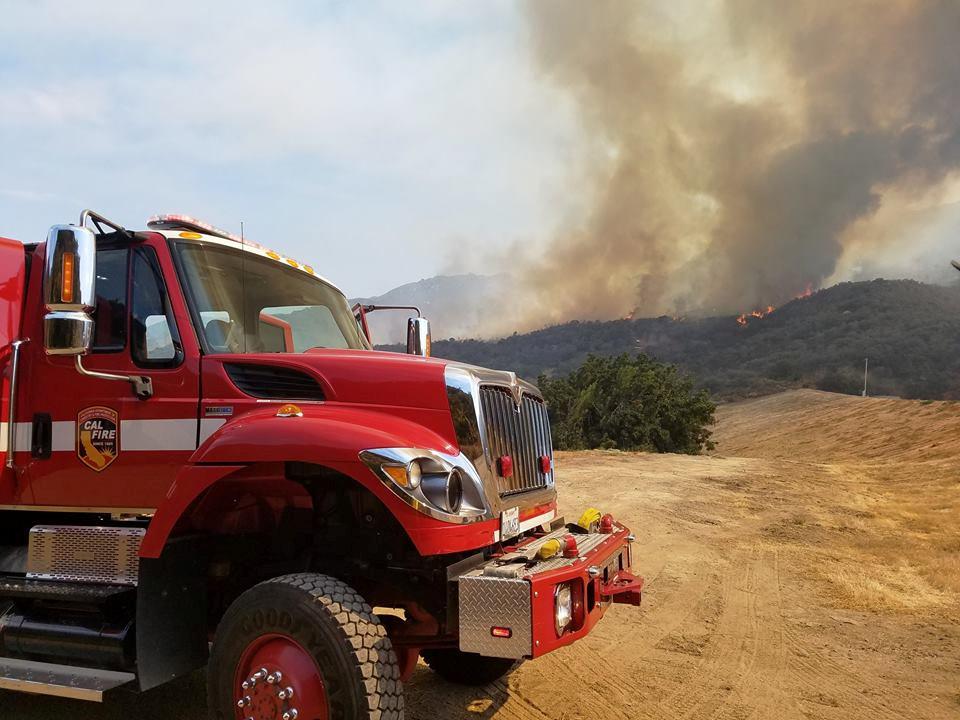 حرائق الغابات تهدد منازل كاليفورنيا الجنوبية