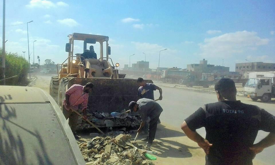 حملة تنظيف القمامة في بنغازي