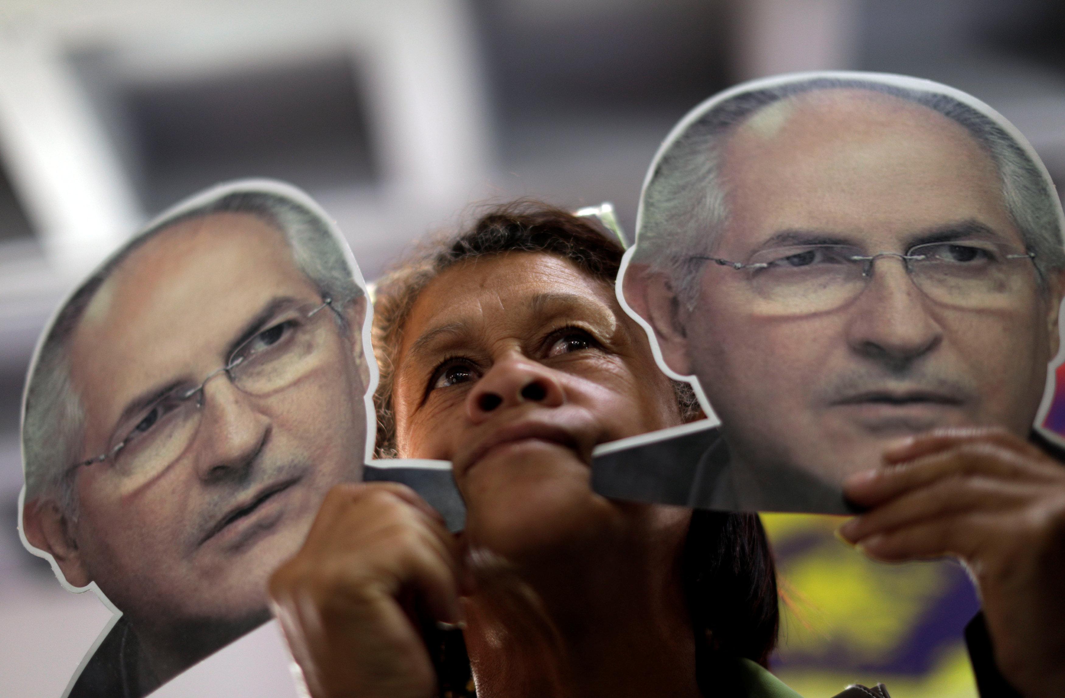 زعيمين معارضين في فنزويلا
