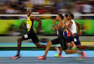 سباق 100 متر الأخير للجامايكي يوسن بولت