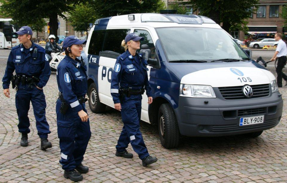 شرطة فنلندا