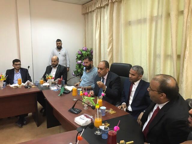 صحة الوفاق تؤكد ضرورة دعم مستشفى مزدة العام