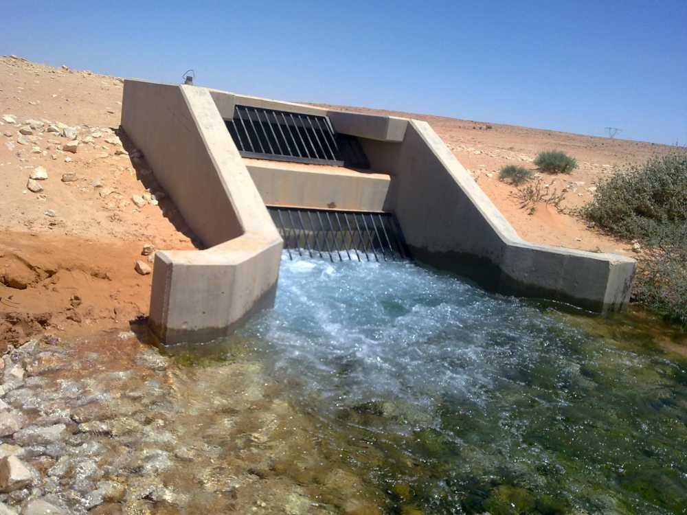 """صورة """"هجوم النهر الصناعي"""" يُهدد إمدادات المياه"""