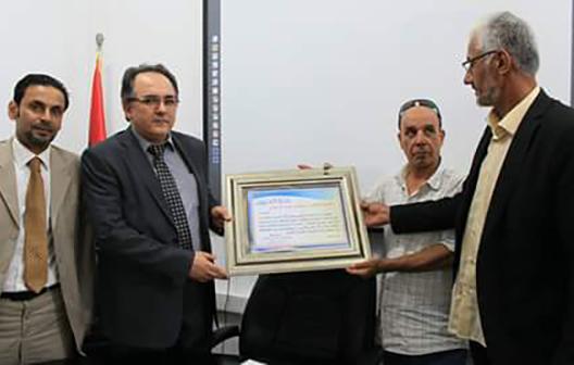 فنانو وإعلاميو بنغازي يُكرمون مصرف ليبيا المركزي