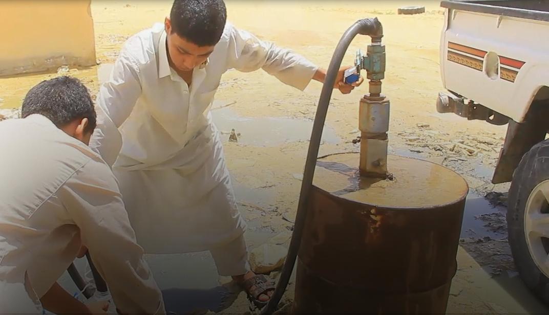 مرادة تعاني نقصا في مياه الشرب