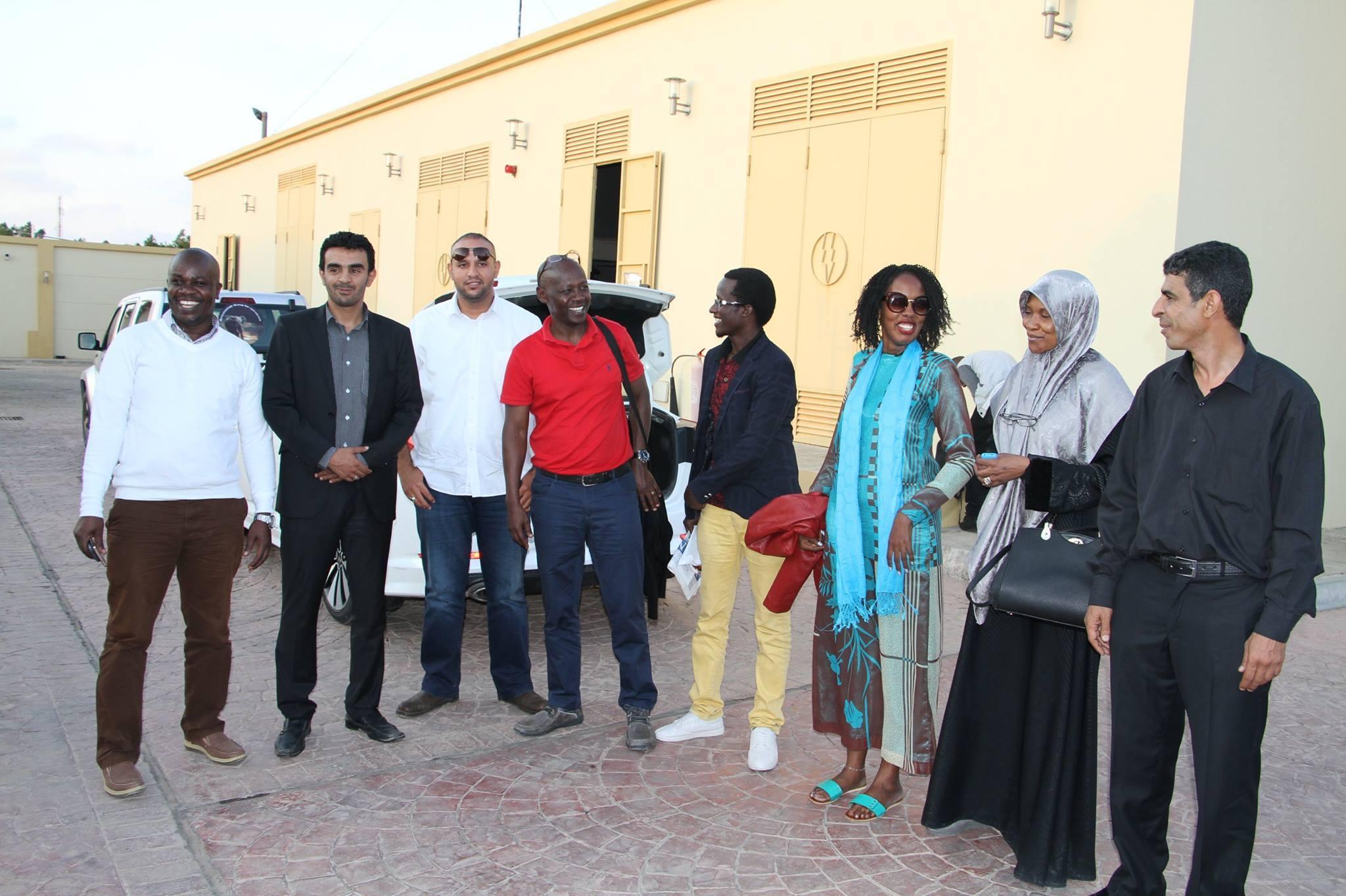 وفد طبي من من أوغندا يصل بنغازي