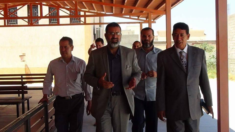 وكيل تعليم الوفاق يتلقي رئيس الجامعة الأسمرية