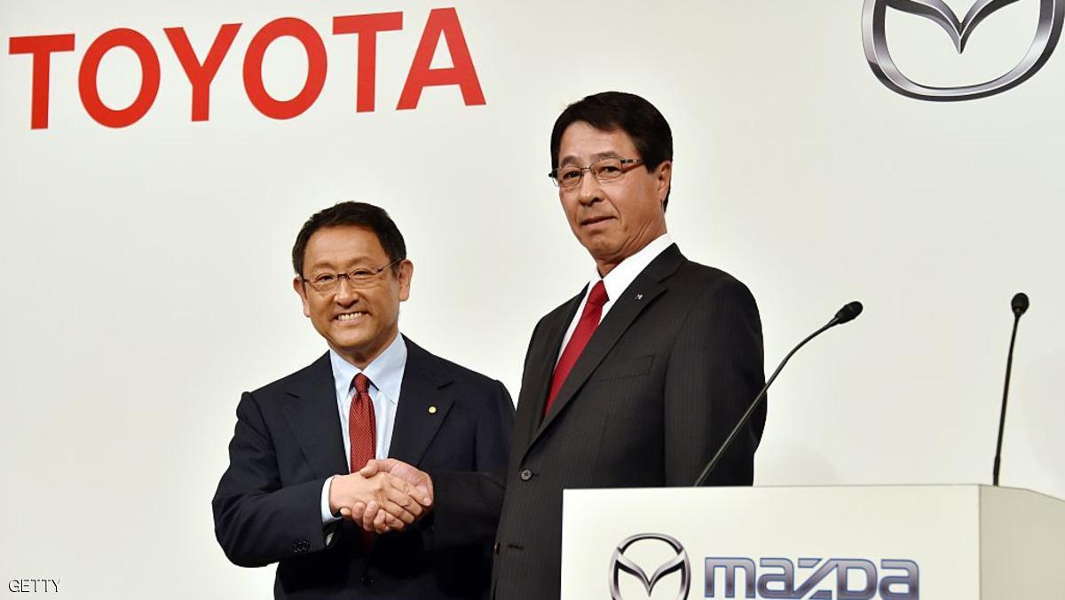 Photo of تويوتا ومازدا تتحالفان لبناء مصنع أمريكي