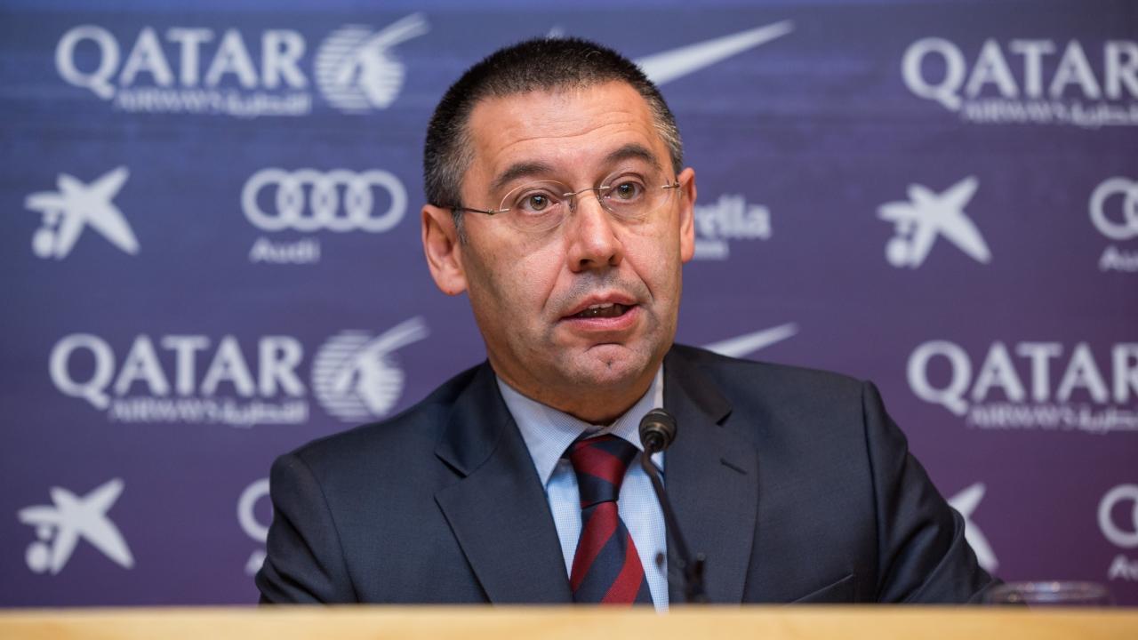 رئيس نادي برشلونة جوسيب ماريا بارتومي