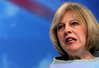 رئيسة وزراء بريطانيا تيريزا