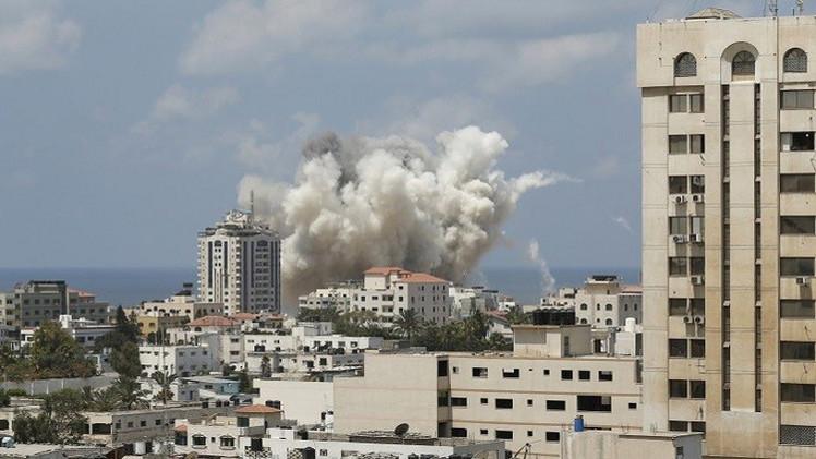 Photo of إسرائيل تقصف قطاع غزة