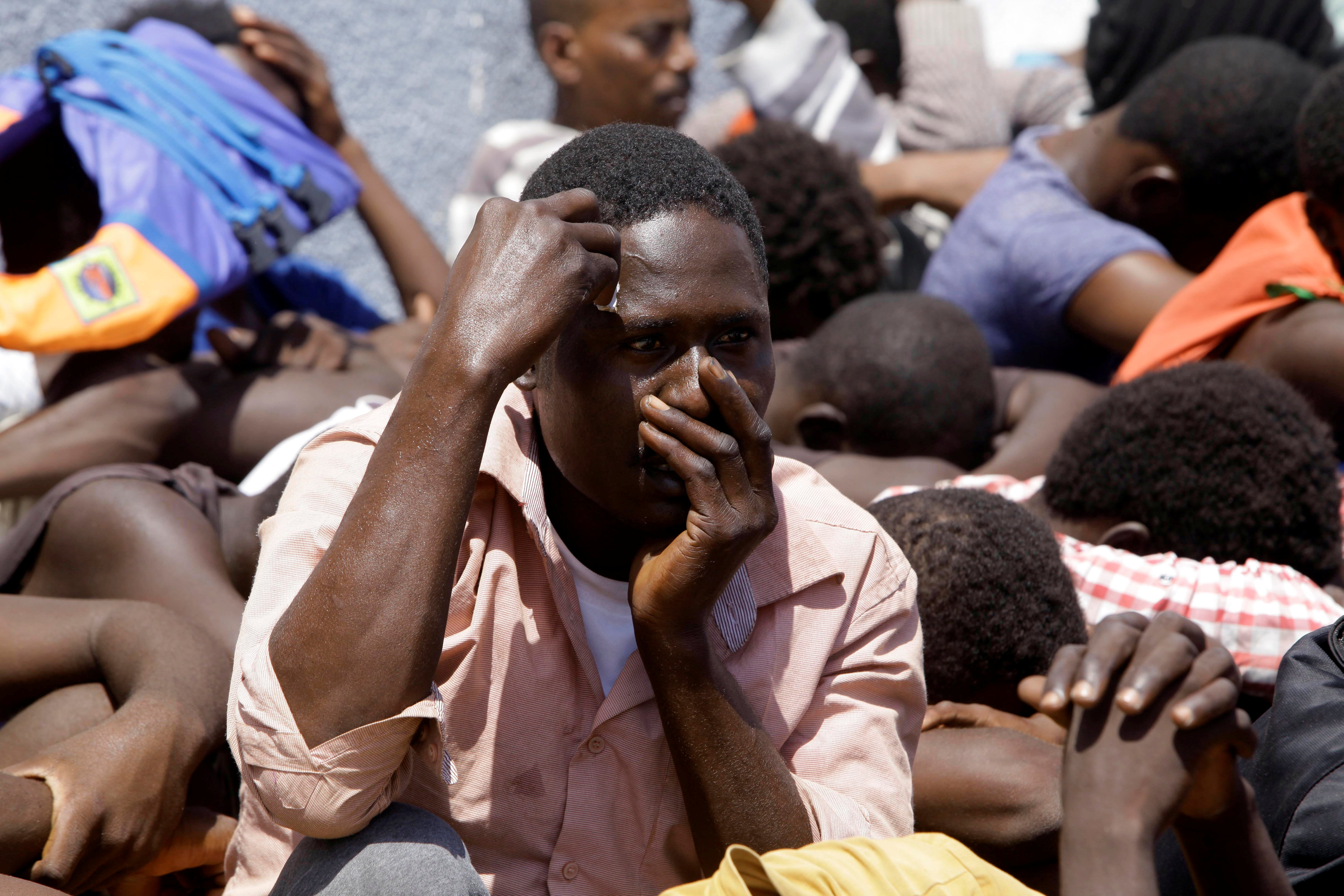 الهجرة غير الشرعية - صور أرشيفية