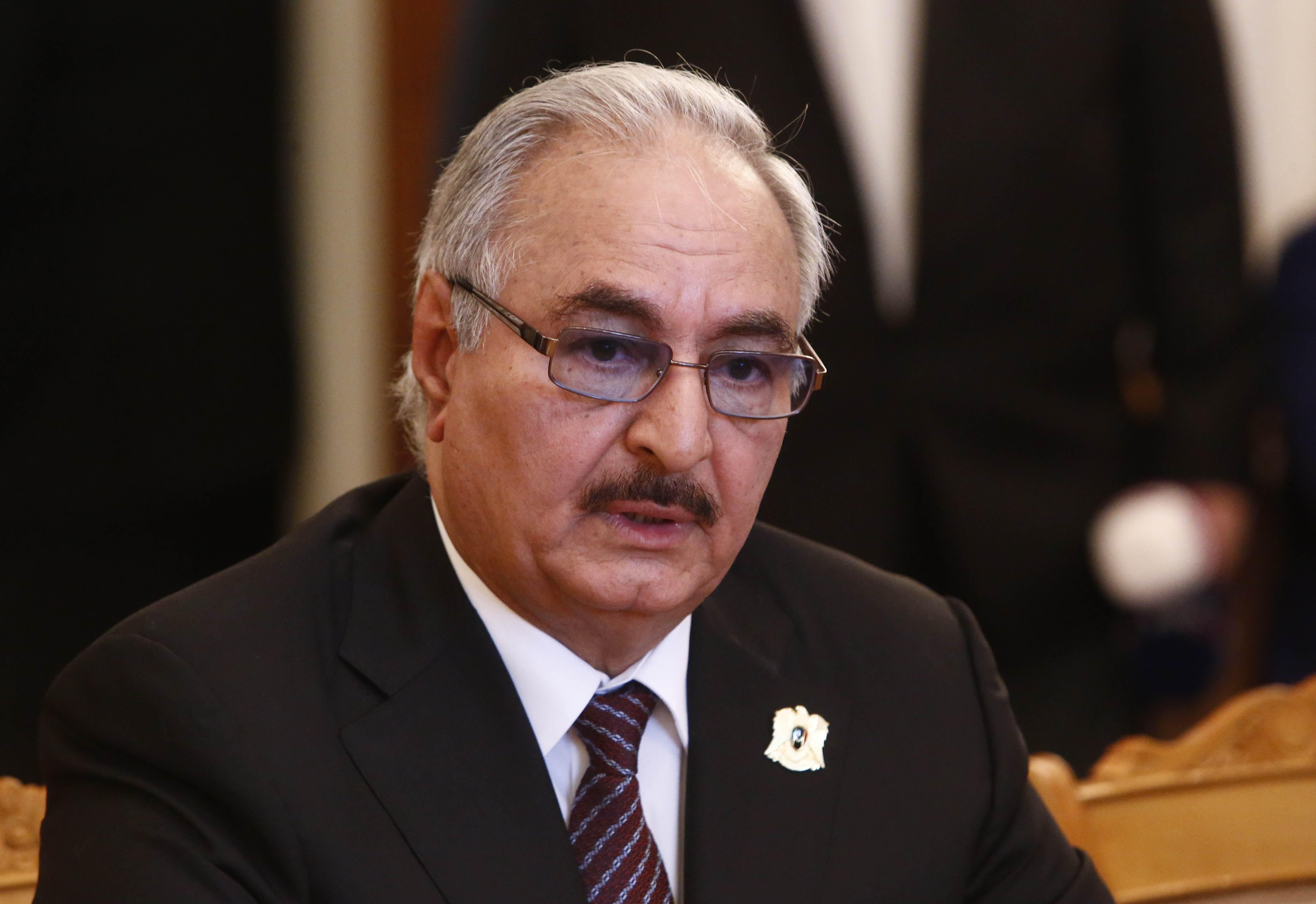 القائد العام للجيش الوطني المشير خليفة حفتر