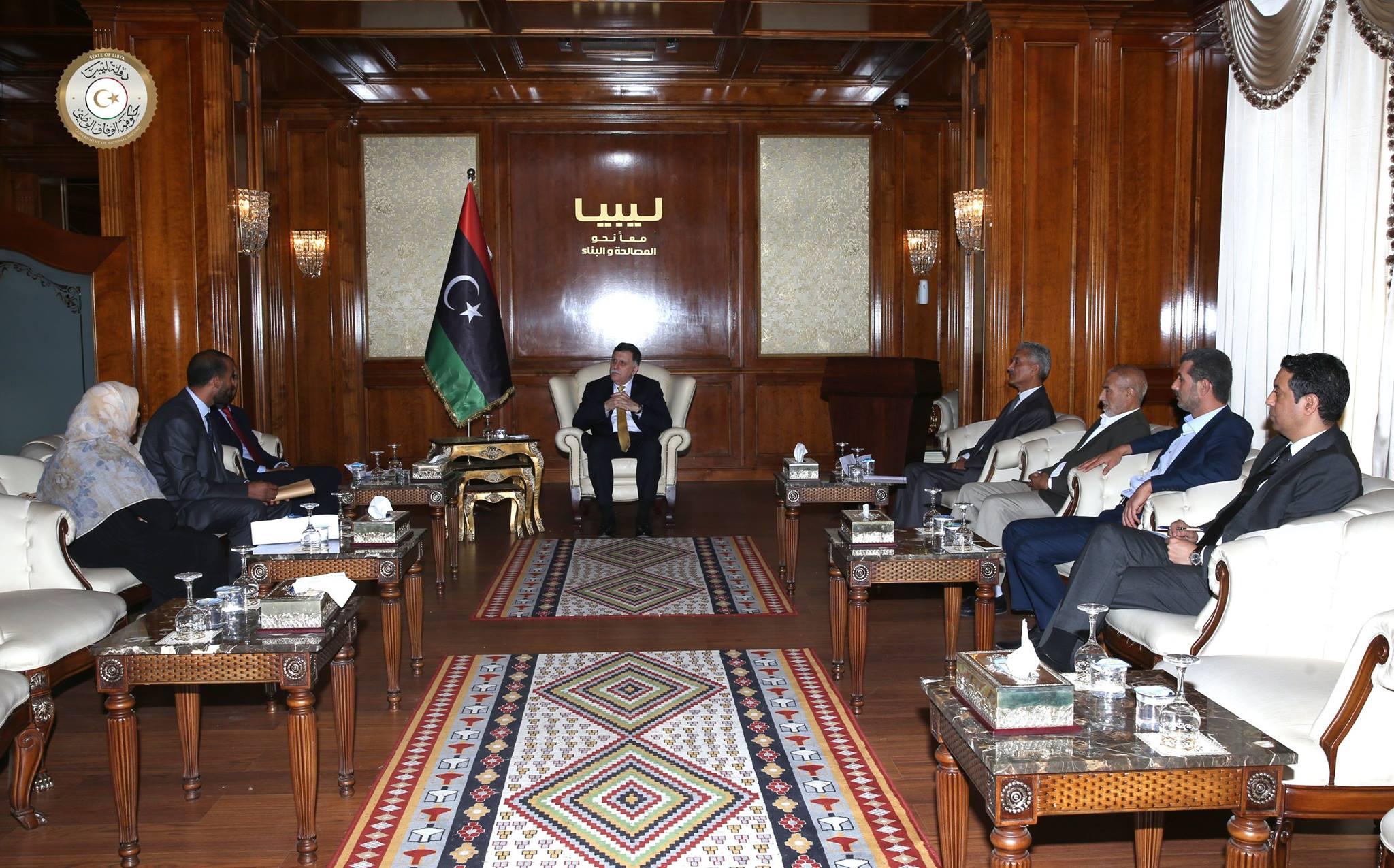 رئيس المجلس الرئاسي لحكومة الوفاق الوطني