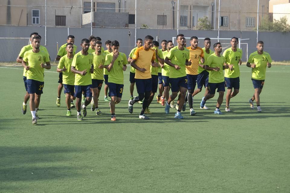 Photo of الاتحاد المصراتي والأخضر في مباراة ودية