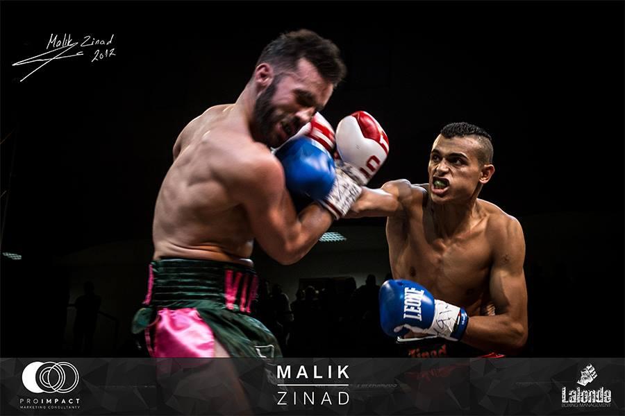 اللاعب الليبي مالك الزناد