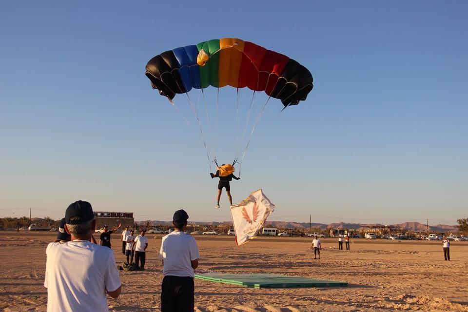 صورة اختتام الرياضات الجوية في ودَّان