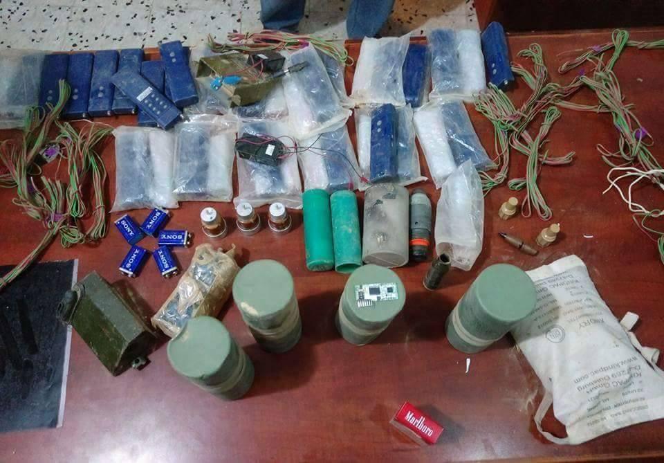 "Photo of ""جنائي اجدابيا"" يعثر على متفجرات لتنفيذ عمليات إرهابية"