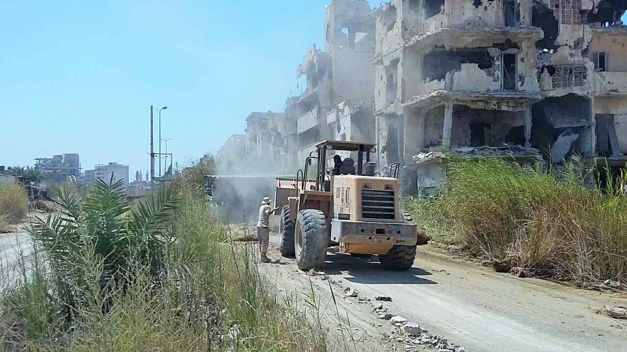 Photo of بنغازي.. مواصلة إزالة مخلفات الحرب وإعادة الخدمات