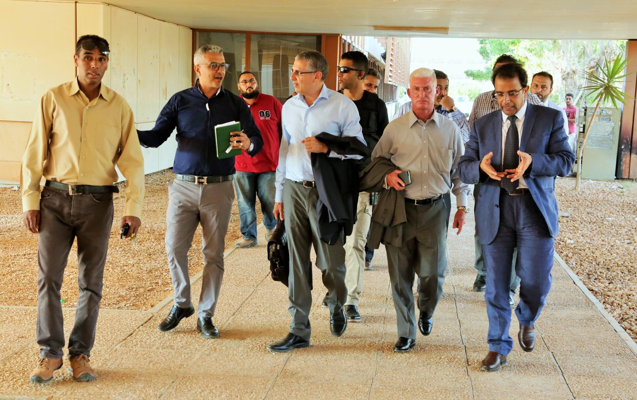 وفد من المجلس الوطني للعلاقات الأمريكية الليبية