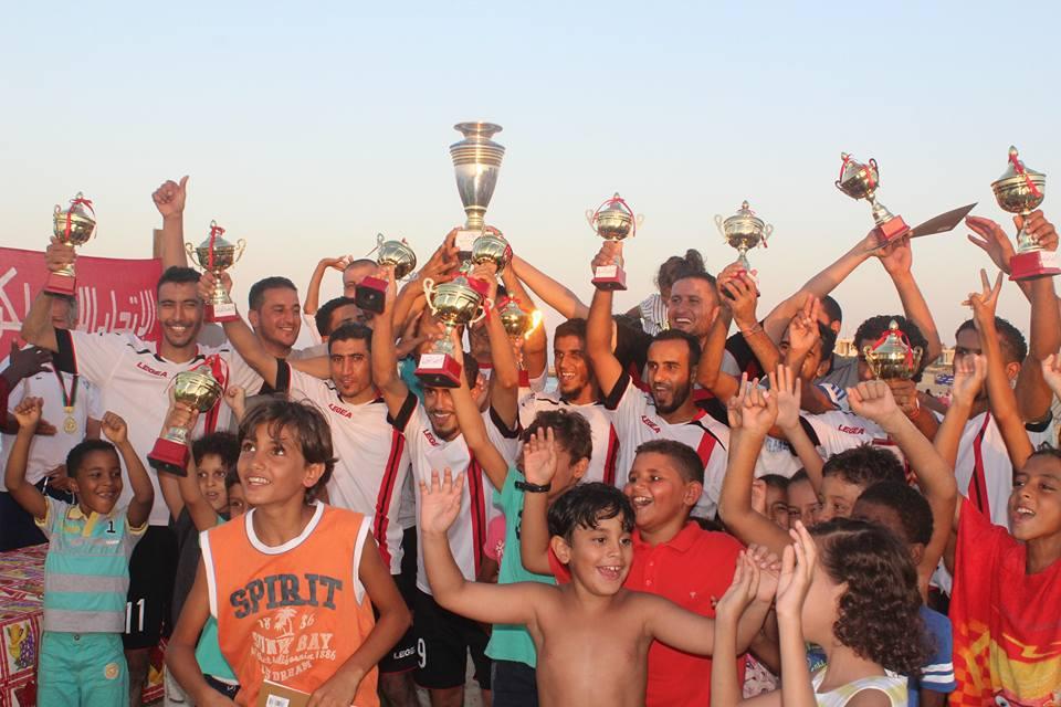 بطولة المنطقة الغربية لكرة القدم الشاطئية