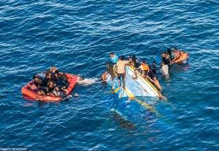 غرق المهاجرين في البحر المتوسط