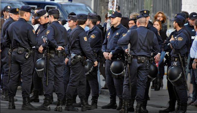 الشرطة الاسبانية