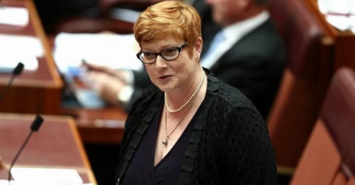 وزيرة الدفاع الاسترالية ماريس بين