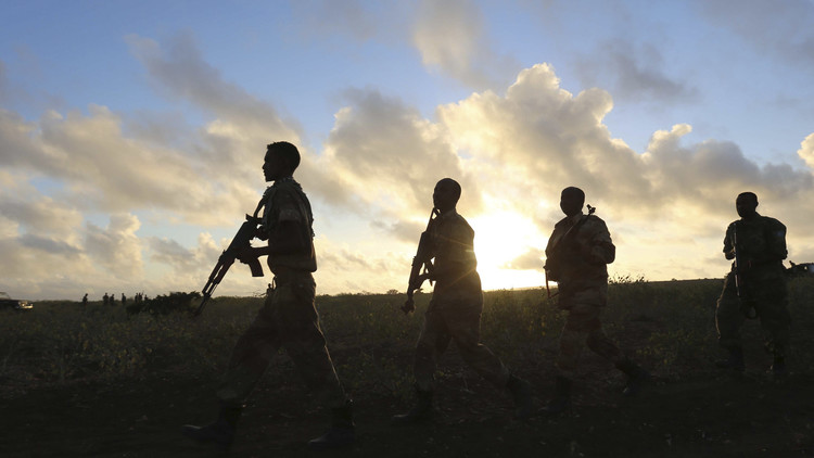 عناصر للجيش الصومالي