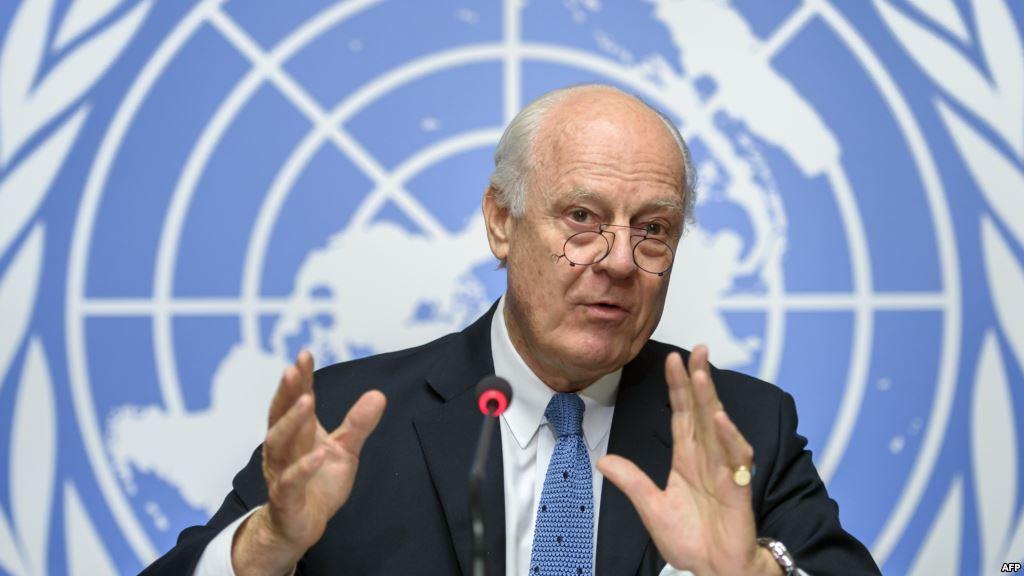 ستافان دي ميستورا مبعوث الأمم المتحدة إلى سوريا