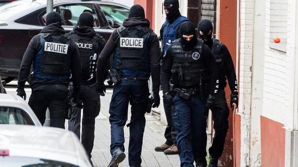 الشرطة في بلجيكا