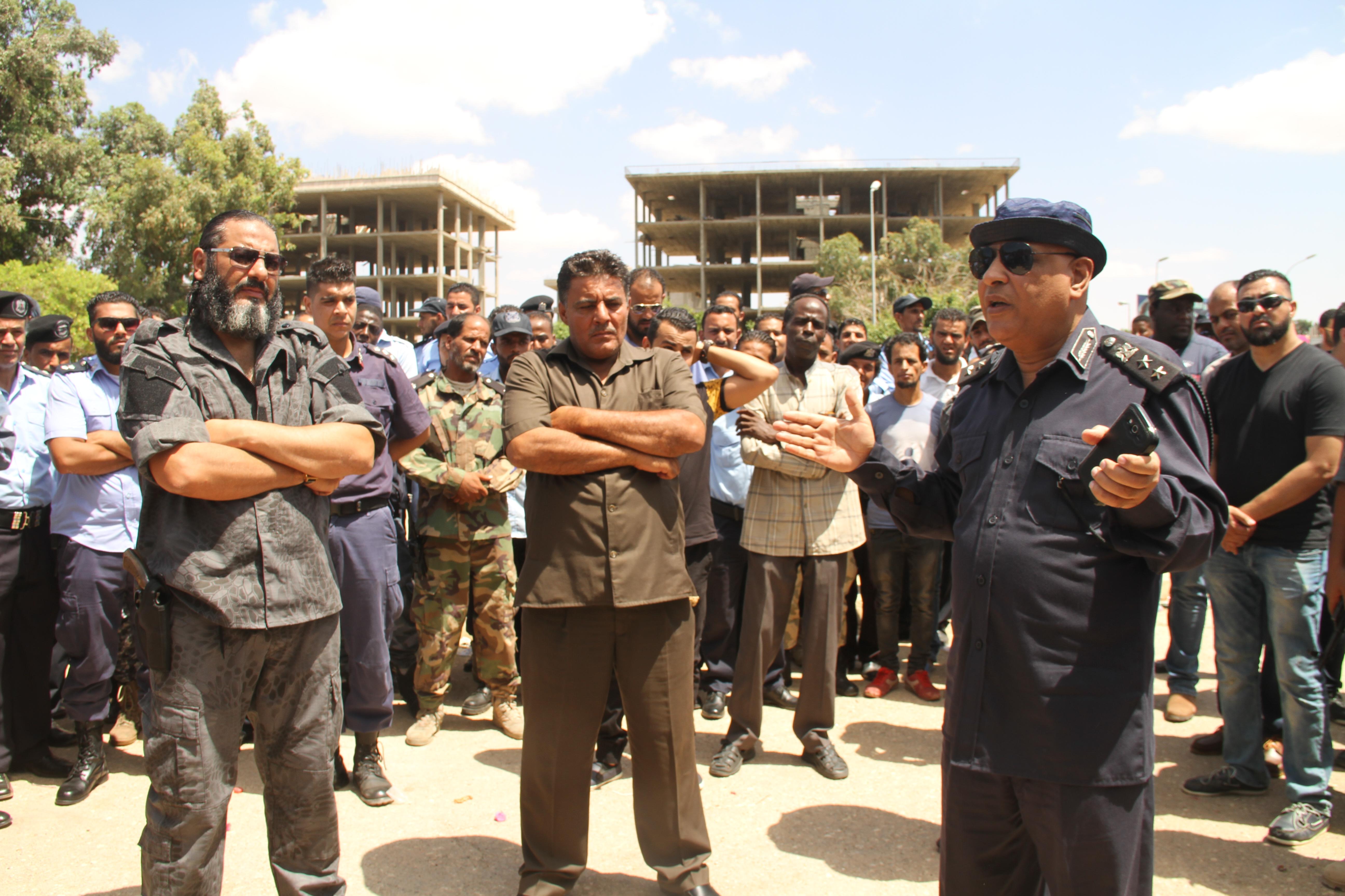 خطة أمنية في بنغازي