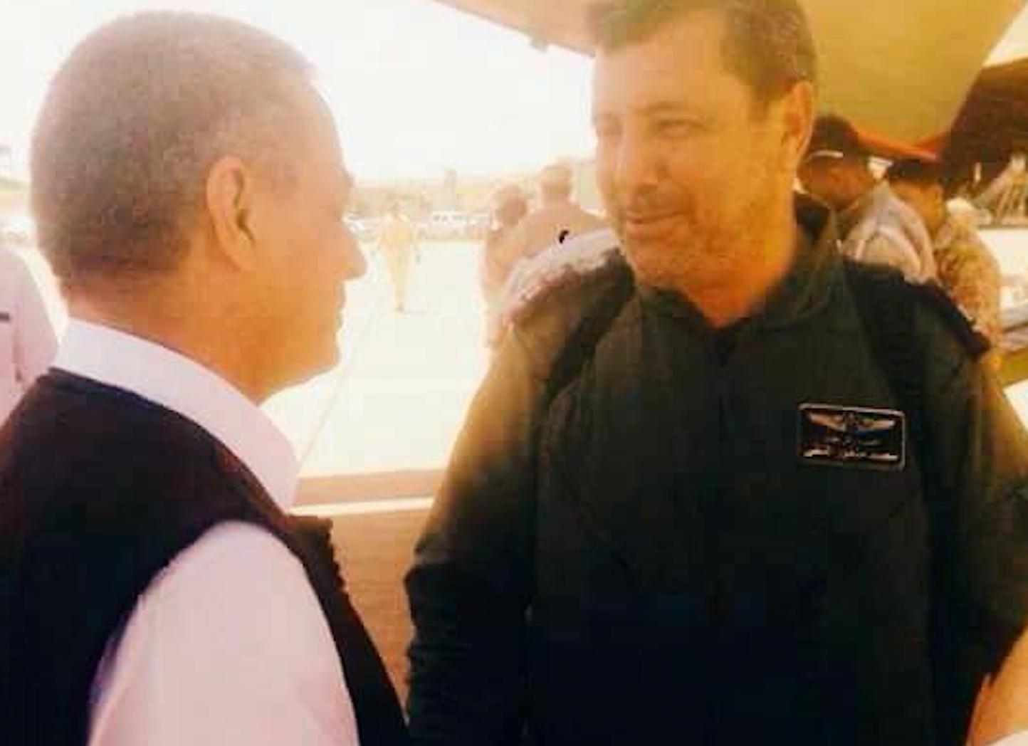آمر غرفة عمليات السلاح الجوي العميد محمد المنفور